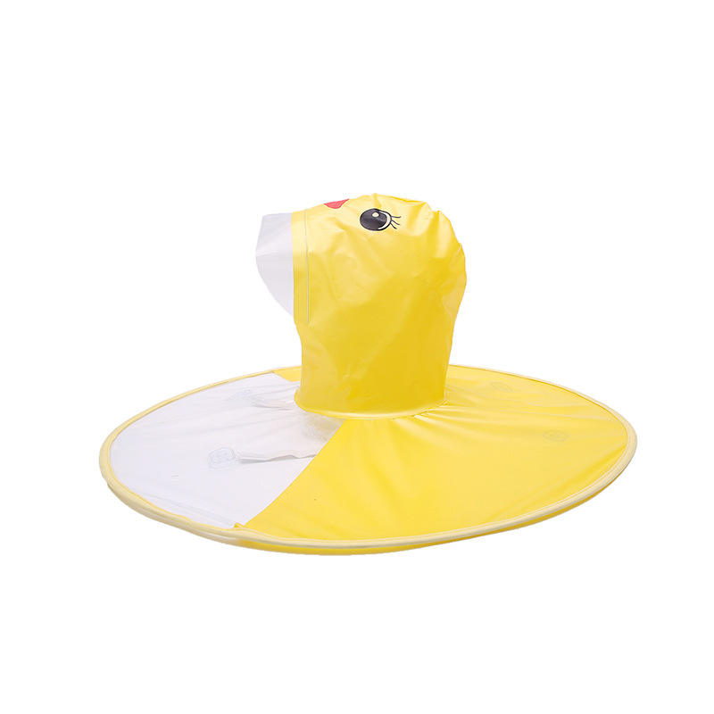 Funny and Cute Yellow Rubber Ducky Folding Windproof outdoor Travel Umbrella for Women