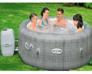 60019 SIZE 1.96 m* 71cm Honolulu air jet 4-6 person round SPA massage Swim pool Inflatable bathtub portable jacuzzi for sales