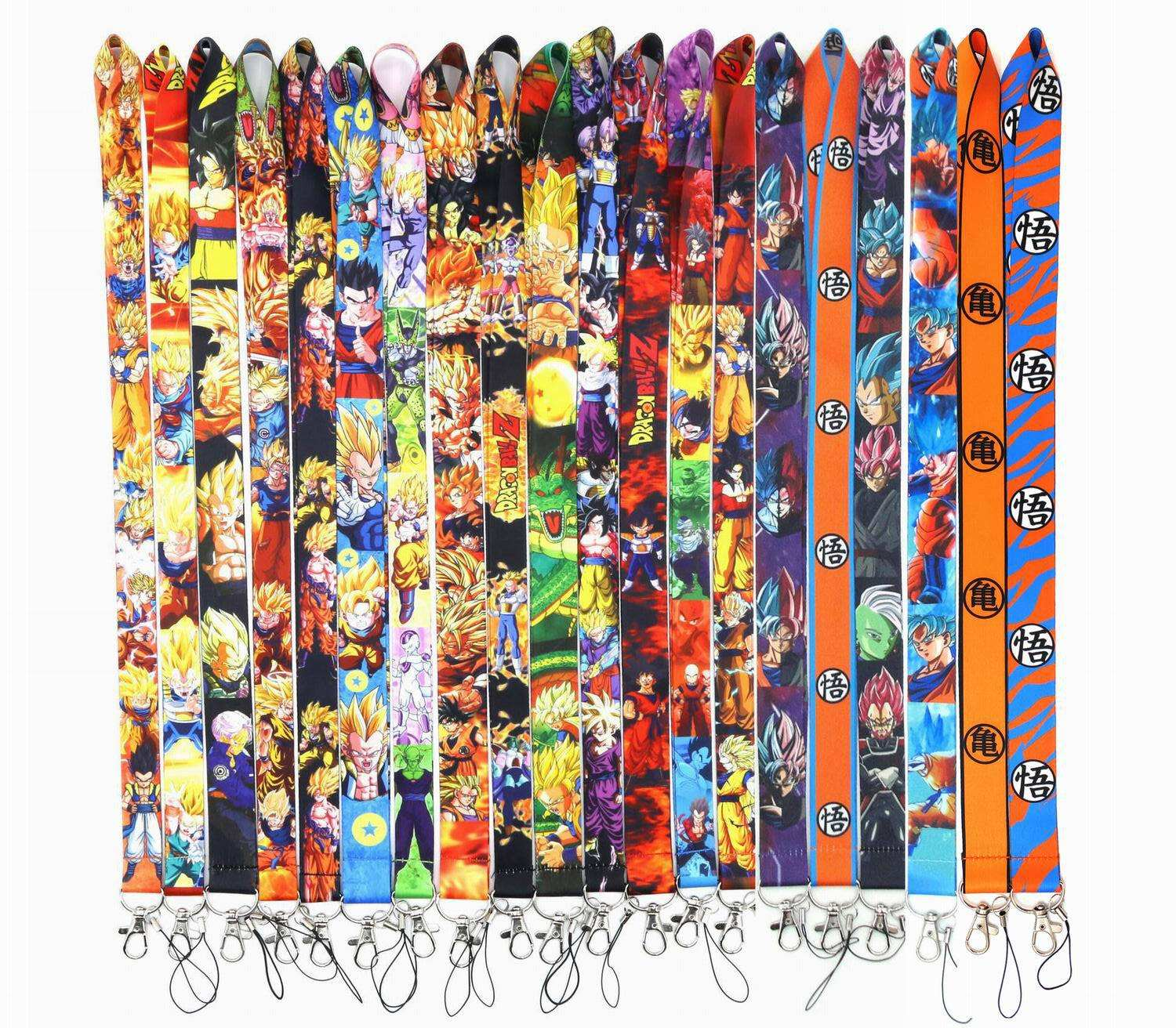 Dragon Ball Z Goku Anime Lanyard