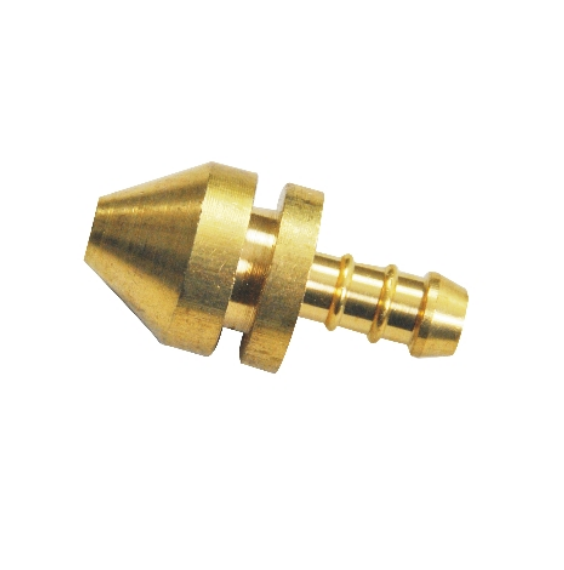 high quality trapezoidal head gas brass pipe fittings coneect hose barss fitting