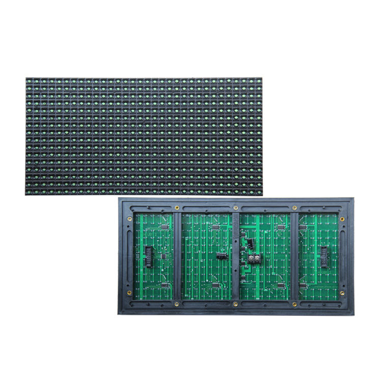 P10 Outdoor DIP Single Green Color LED Module LED Message Sign Board 10mm dip outdoor led modules