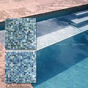 2017 Trendy Low Price Hot Selling Artistic Glass Mosaic Pattern