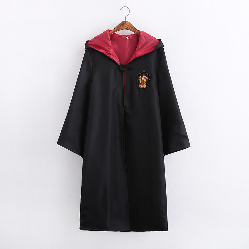 Pour Harry Cosplay Costume Enfants et Adultes Potter Robe Cape D'halloween <span class=keywords><strong>Costumes</strong></span> de Fête