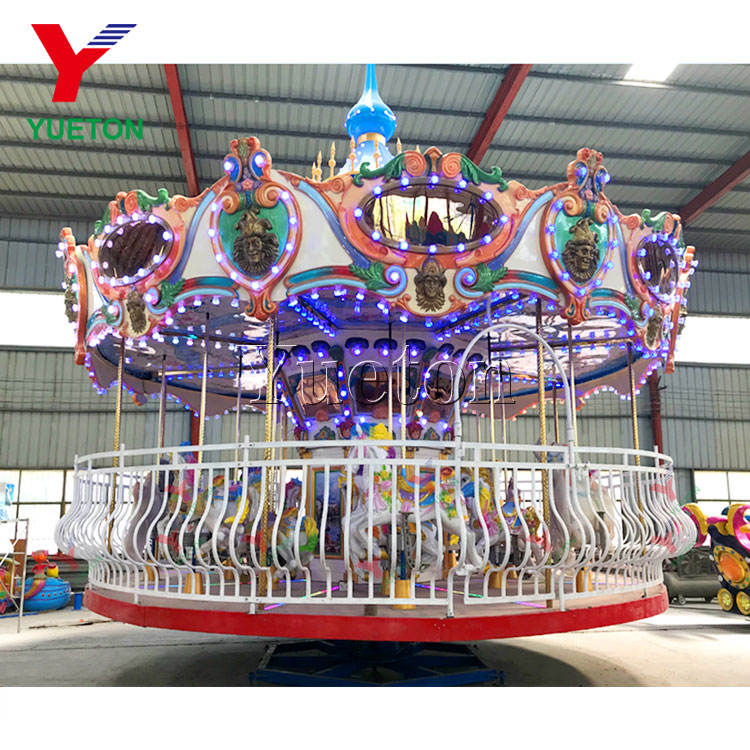 Outdoor European Carnival Adult Buy A Antique Vintage Big Merry-Go-Round Merry Mary Go Round Large Luxury Carousel Ride For Sale
