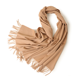 Hign quality unisex woven winter wool tassel scarf