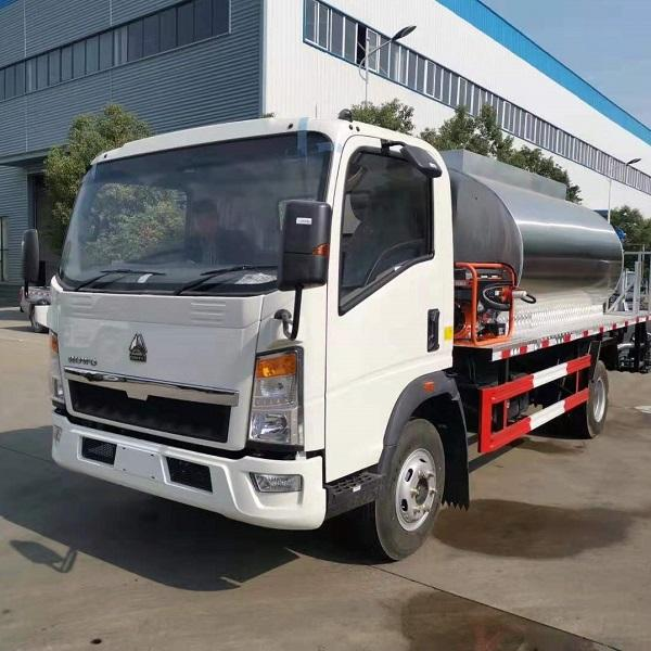 6000L Asphalt Distributor Bitumen Concrete Sprayer For Sale