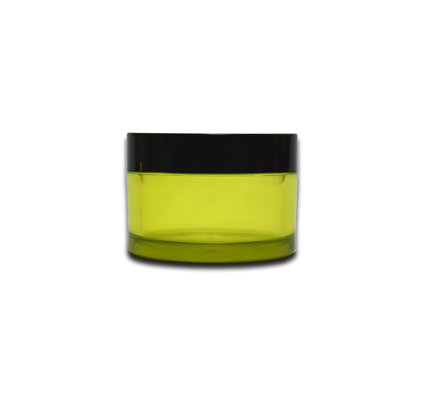 Green PCR 30g 45g Facial Cream Recycle PET Plastic Packaging Cosmetic Jar
