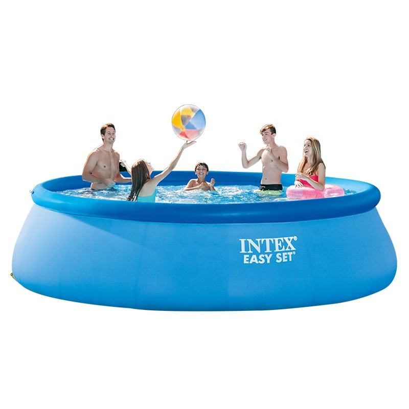 Intex 28101 Inflatable Above Ground Outdoor Easy Set Swimming Pool