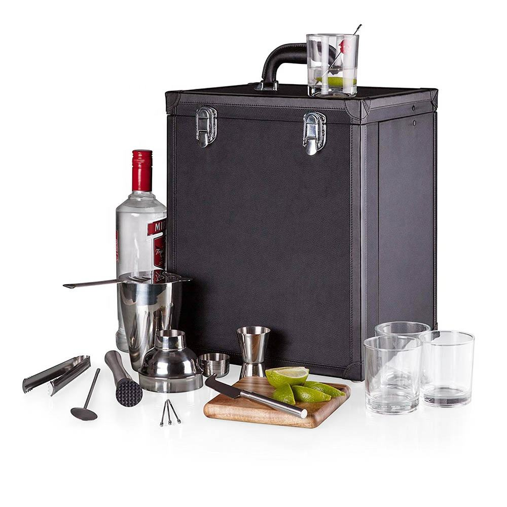wine cocktail shaker set gift box all in box