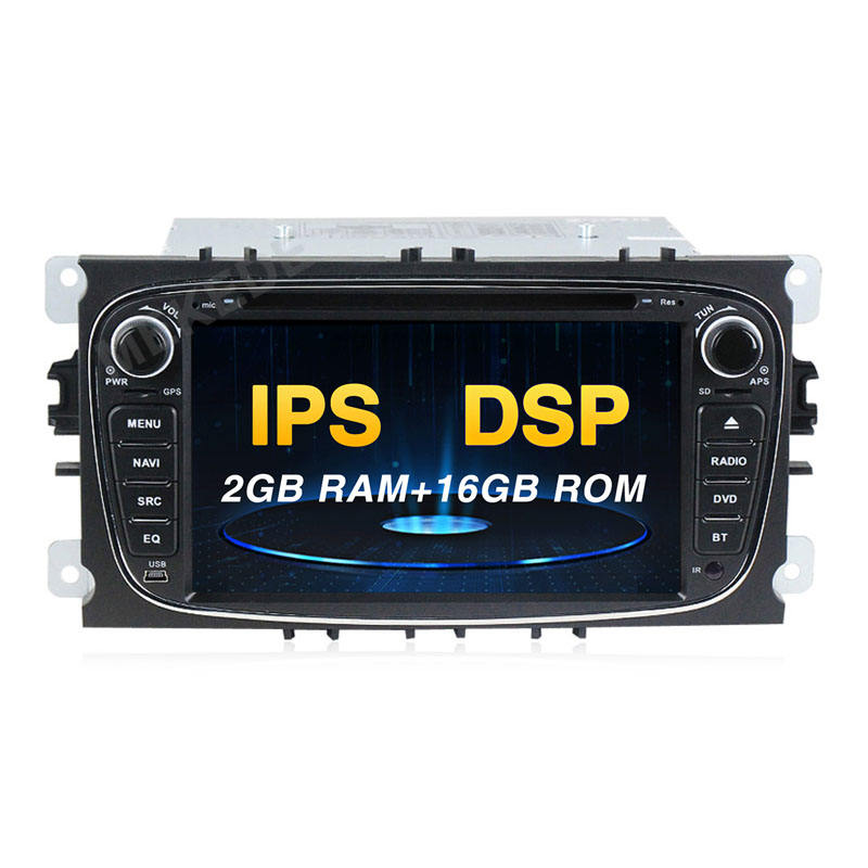 "Mekede 7 ""2DIN Android 9.0 Auto <span class=keywords><strong>DVD</strong></span> radio für Ford C-Max Verbinden Fiesta Fusion Galaxy Mondeo S Max stereo audio gps IPS + DSP"