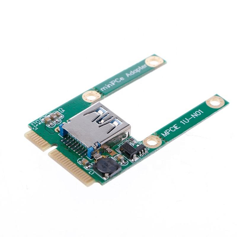 Mini pcie a USB 3.0 adapter convertitore USB3.0 per mini pci e PCIE Express Card no