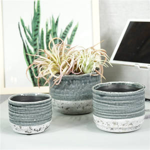 Modern design succulent flower plant pot molds home garden decor ceramic planter pot