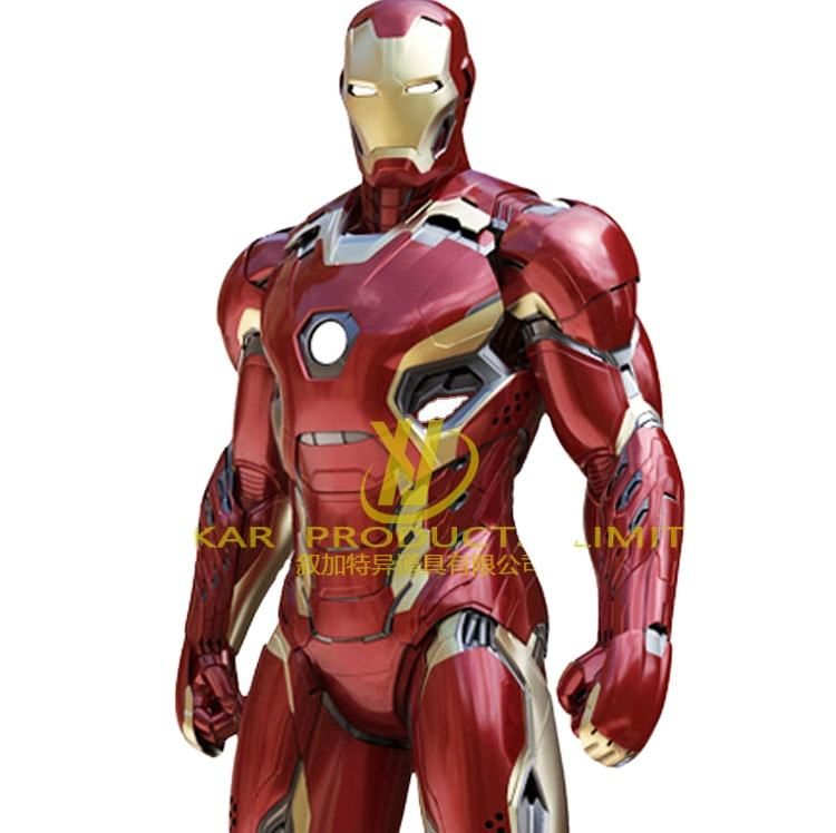 Mascot Party new holiday carnival costume Ironmans cosplay Suit iron Mans Costume Adult for Sale