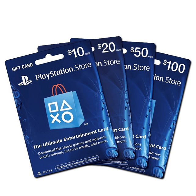 Carte cadeau pour console Playstation $50, PS3, PS4, <span class=keywords><strong>SONY</strong></span>