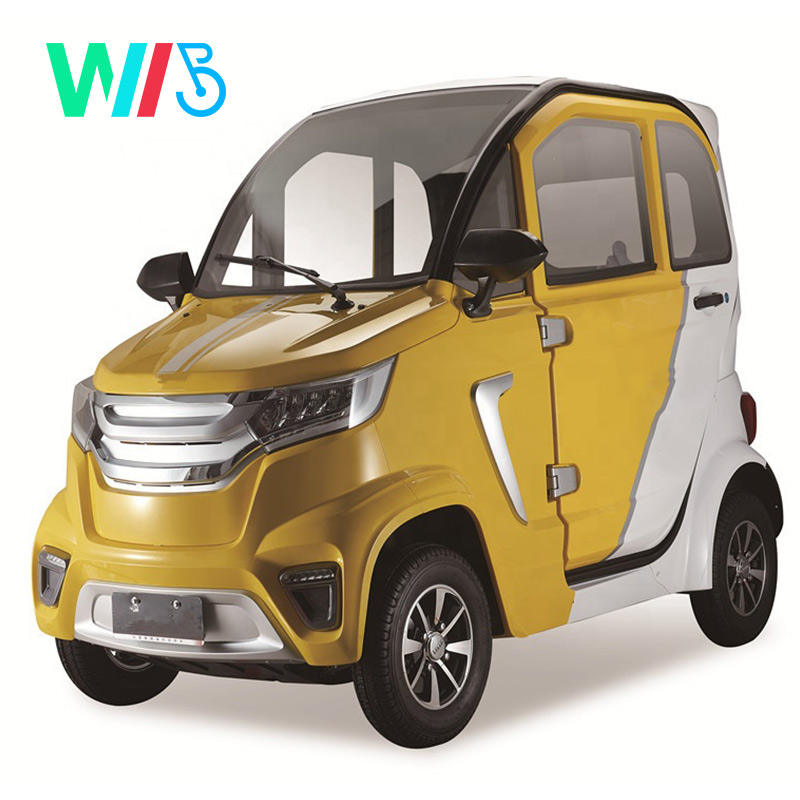 2020 New EEC Hot-Selling New Energy Electric Mini Four Wheel Car with Lower Price Made in China