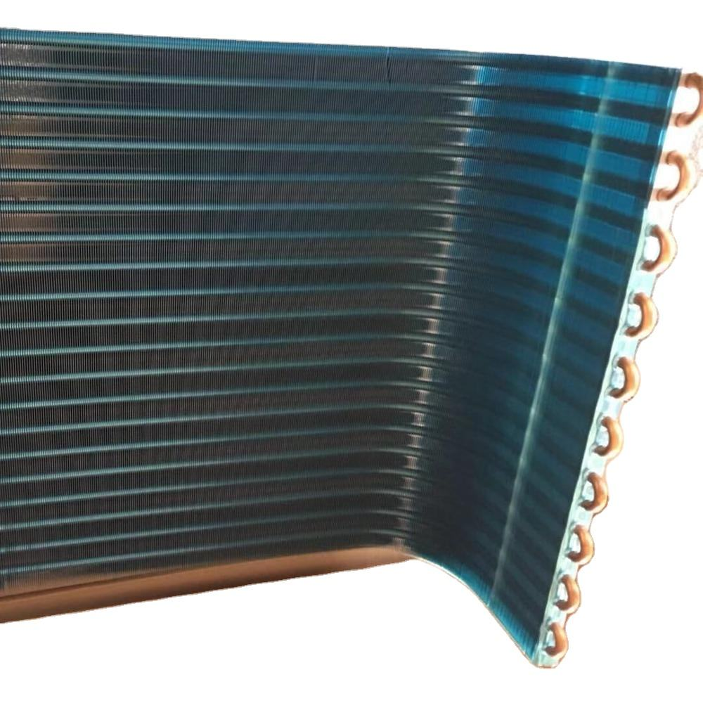 U shape copper tube small condenser coil L shaped air cooled condenser for air condition
