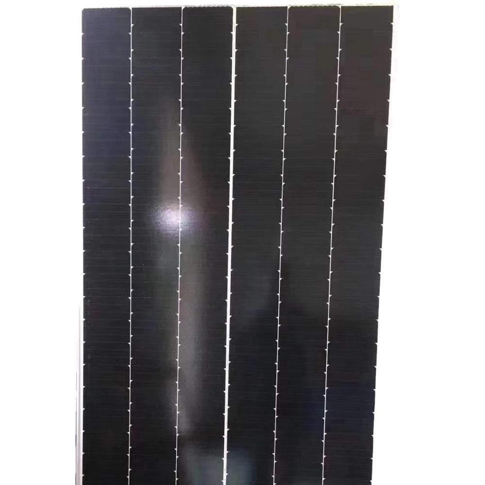 390w Single glass shingle thermodynamic Solar Panel system high efficiency For hot water