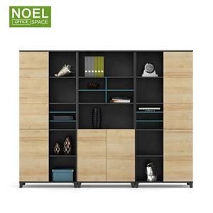 Supplier Popular Wooden filing cabinet set with drawer for Office Furniture