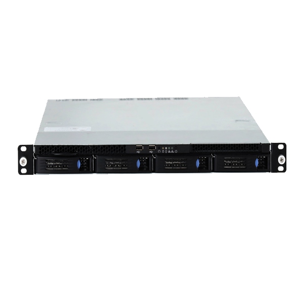 1U xeon E5 quad core eight thread CPU rack mount industrial server for storage use