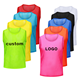 Factory direct sale soccer jersey Custom soccer training vest cheap football vest team vest mesh soccer training bibs