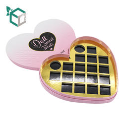 Cosmetic Private Label Cardboard With Mirror Eyeshadow Palette Box