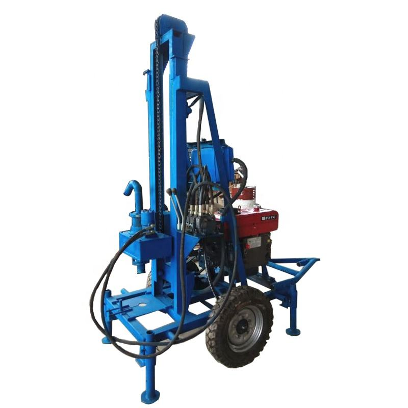 tractor mounted water well drilling rig machine for water wells mine+drilling+rig