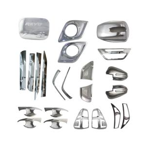 Good quality car exterior accessories auto chrome set for 2016 car model car ABS chrome full set