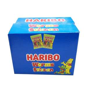 FOR HARIBO WORMS 25 GR. JELLY CANDY