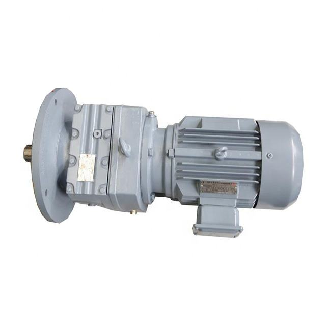 Graphic Customization [ Gr Gearbox ] R Series Gearbox Guomao Drive Industrial GR Helical Gearmotor R Series Gearbox