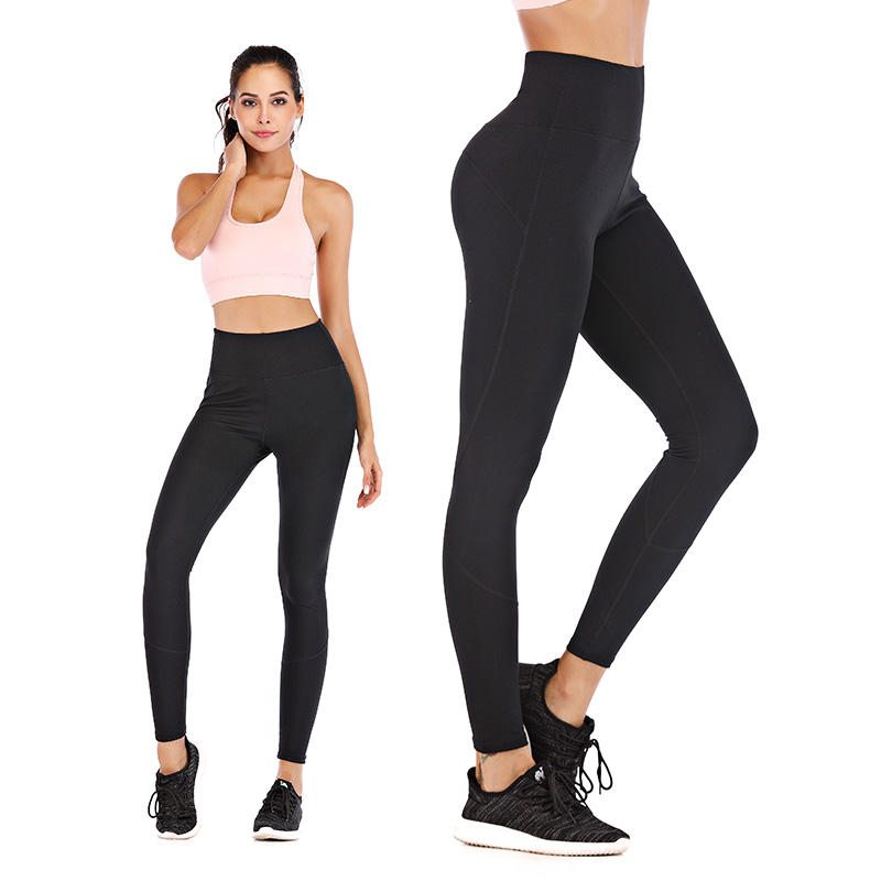 High waist women yoga pants activewear womans yoga leggings