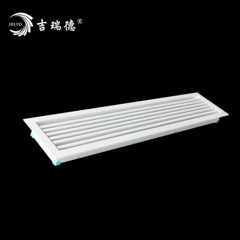 Factory wholesale Blinds return air outlet One linear high-grade air vent HVAC Aluminum Adjustable return air
