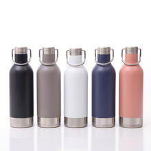 Wholesale Fashion Portable Double Wall Vacuum Insulated Thermal Stainless Steel Coffee Tumbler Bottle