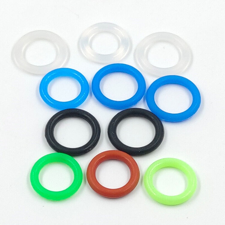 O Ring Silicone Gasket Colored Washer Repair Assortment O Ring Seal Set Rubber Seal Rings Gasket Kit
