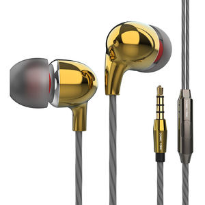Basso pesante Stereo da 3.5mm Auricolari Spina Auricolari in Ear Cuffie Gaming Headses