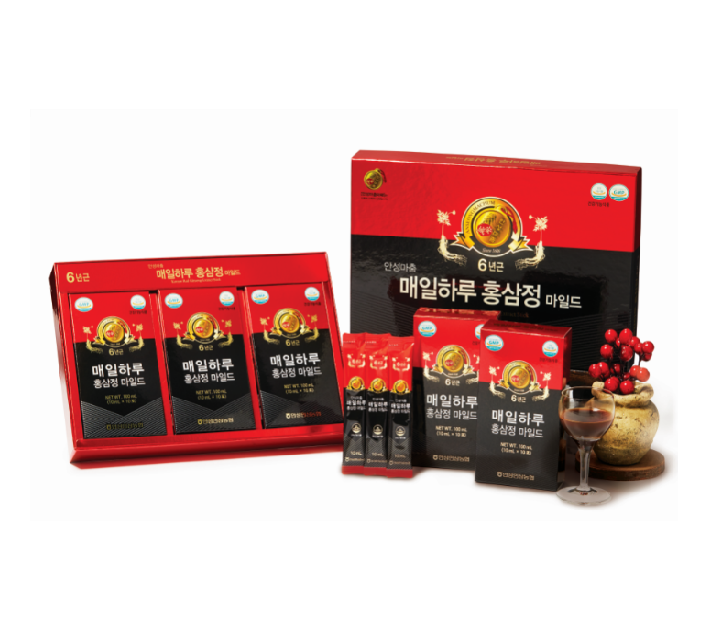 Korea Best Quality Anseongmachum Everyday Red Ginseng Extract (Mild) Made In Korea