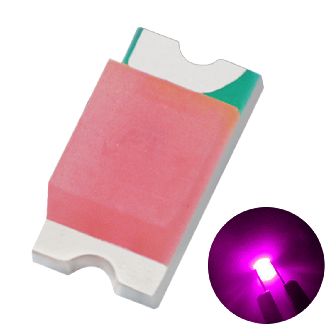 Emitting Color LED Chip SMD Pink China High Quality SMD Led Light 0.06W for furniture
