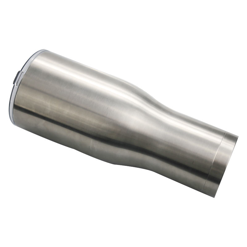40 OZ Modern curve stainless coffee mug food grade 304 stainless double wall vacuum cups tumbler warmer cups