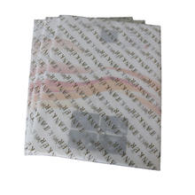 Luxury White Background Clothing Black Custom Tissue Paper , Printing  Paper