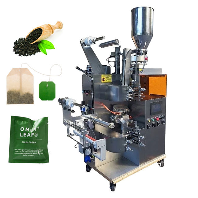 Nylon Triangle Automatic Inner And Outer Moringa Small Manual Lipton Tea Bag Packing Machine with Thread In Sri Lanka Price