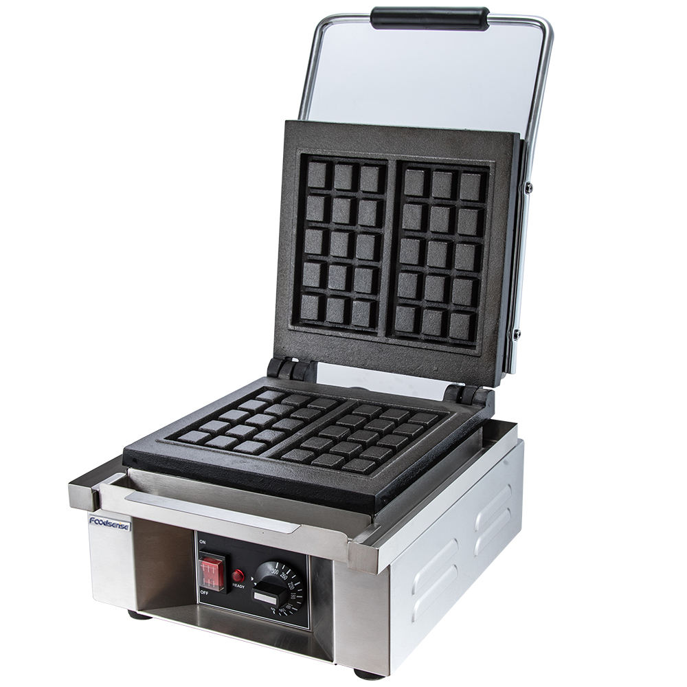 Hot sale Industrial Commercial/home electric snack food machine square waffle maker baker machine for sale
