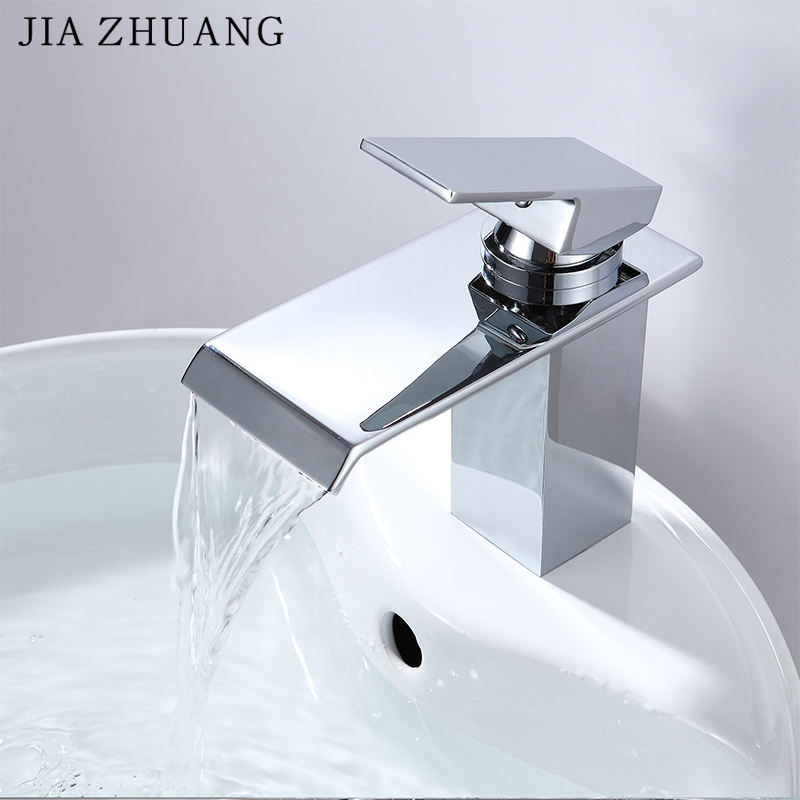 Bathroom China Taps Manufacturer Cheap Fashion Design Brass Square Chrome Bronze Bath Sink Basin 304 Wide Faucet