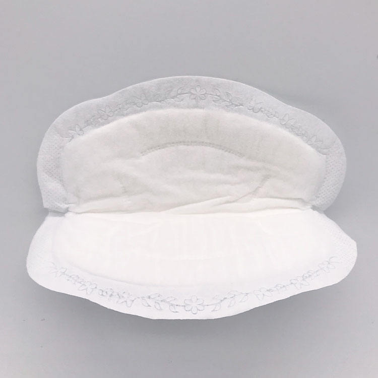 factory price rounded polyurethane foam nursing pads breast for ladies