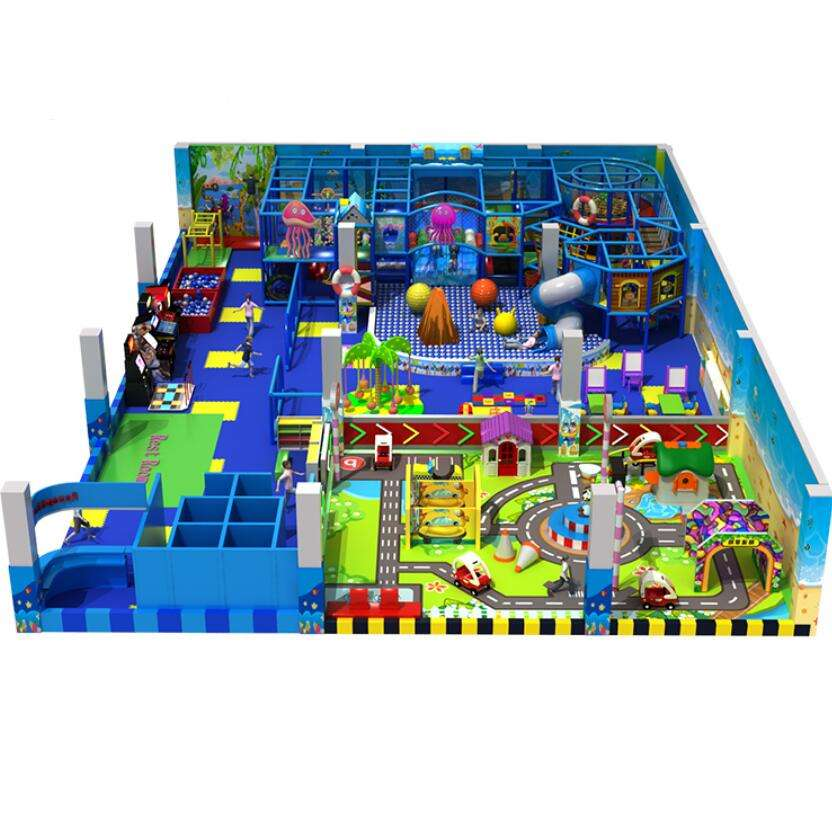 Guangzhou Gratis Ontwerp Kids Indoor Soft Play Speeltoestellen Structuren