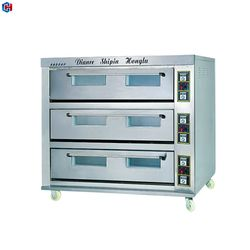 High Quality Electric Fresh Bread Baking Oven With 3 Decks 9 Trays