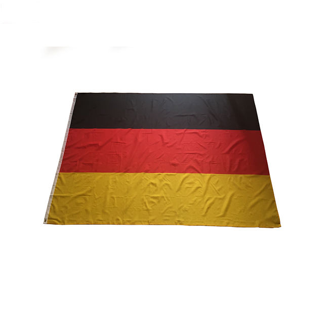 Wholesale High Quality Screen Printing 90x150cm 3x5ft National Football Olympics Heavy Duty Outdoor Large German Germany Flag