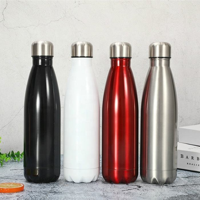 Stainless Steel Coke Vacuum Flask Bottle- 500ml color customized