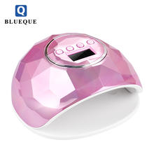 Beautiful New appearance and high power 86w F6 chameleon uv led nail lamp