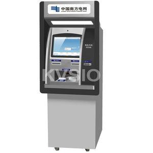 Facture billet machine d'impression internet billetterie d'écran tactile d'affichage à cristaux liquides de kiosque avec l'impri