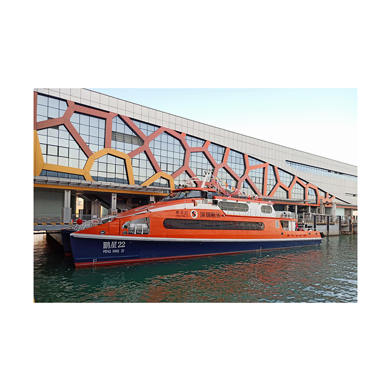 High Speed Aluminum Catamaran Waterjet Ferry for Sale
