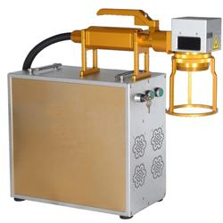 Plastic Fiber Laser Marking Machine Price For Serial Number Printing